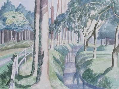 John Nash R.A. (1893- 1977) Watercolour