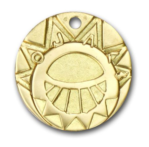 The Mysterious Cities of Gold Medallion - 40g Gold Handcrafted