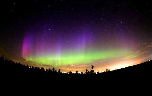 Aurora Borealis - Northern Lights: A wonder of Nature..!!!