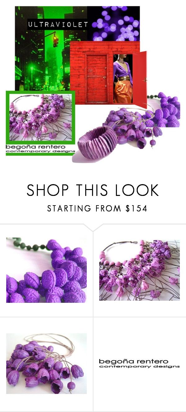 """""""Ultra Violet Colour of the year 2018"""" by renterodesigns on Polyvore featuring moda y Gucci"""