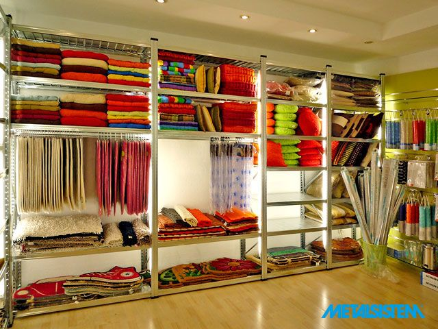 High quality shelves by Metalsistem - UGP  Boltberendezés, bolt-polc