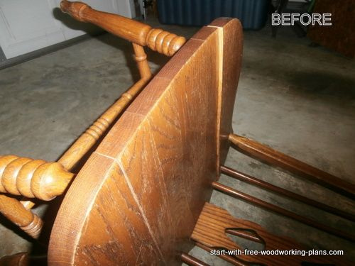 Repair cracked wood chair instead of throwing it out!  It is easy!