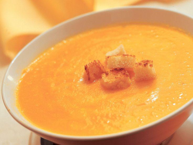 Samettinen porkkanasosekeitto