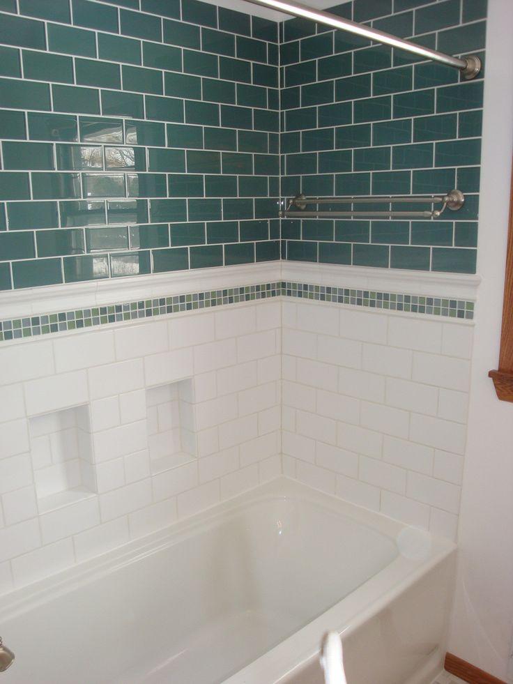 1000 ideas about subway tile bathrooms on pinterest - Bathroom shower ideas with subway tile ...