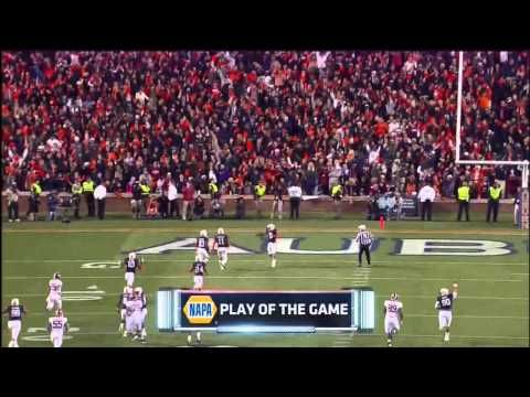 ▶ FInal Play Iron Bowl 2013 w/Auburn Radio Call - YouTube    #Obsessed with watching this over and OVER and OVER!