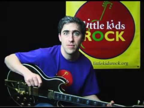 Free guitar lessons for kids.