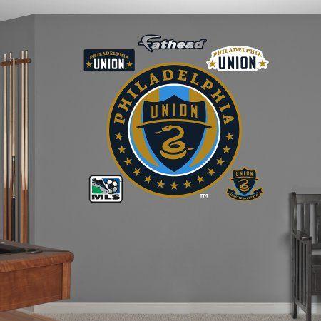MLS Philadelphia Union 2013 Logo RealBig 67-67032, Multicolor