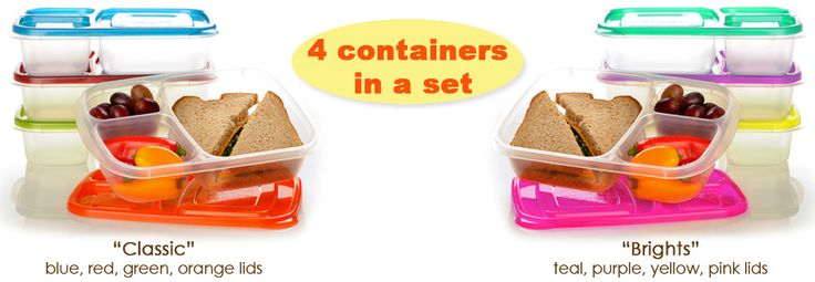 4 containers in a set Not sure I'll need these... can probably continue to make do with individual containers.