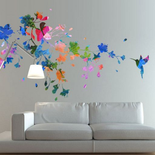 Best Decals Images On Pinterest Vinyl Wall Decals Large Wall - Window alert hummingbird decals amazon