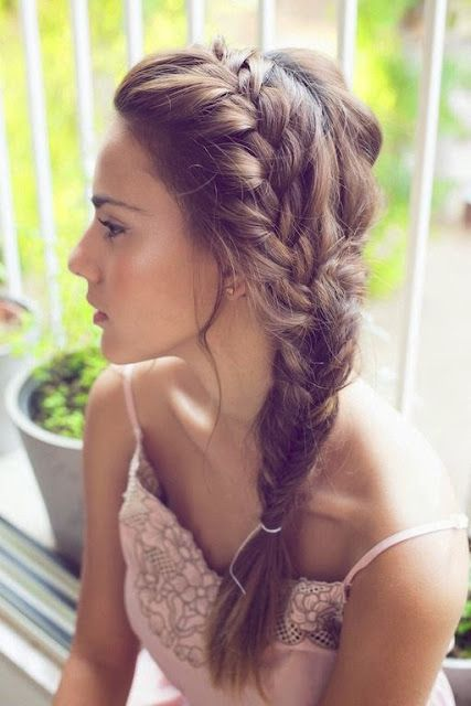 She's So Chic! Beautiful Finds From Around The Web! : Heat Free Hairstyles For Summer