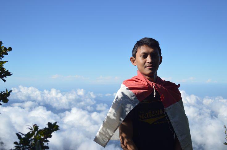 Puncak Gunung Bawakaraeng in Kabupaten Gowa, Sulawesi Selatan