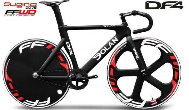 Dolan DF4 Carbon Track Bike (DD75 - FFWD)