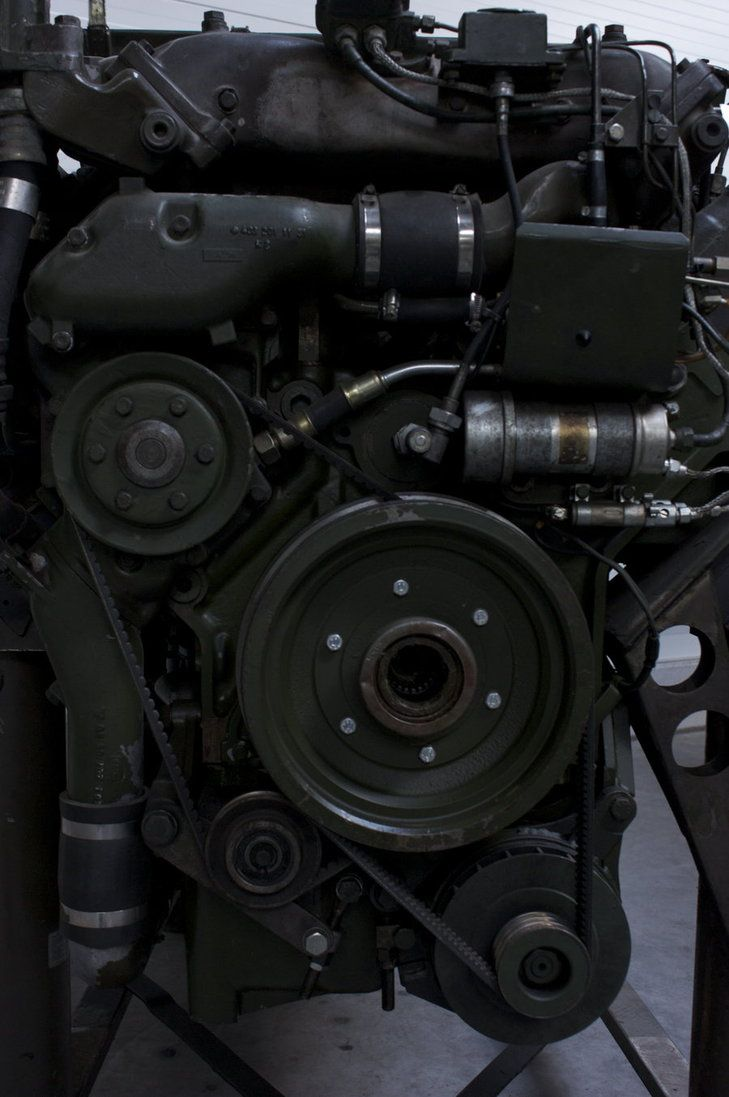 detail of a Spähpanzer Luchs engine Panzermuseum Munster Usage rules Used by to make this: