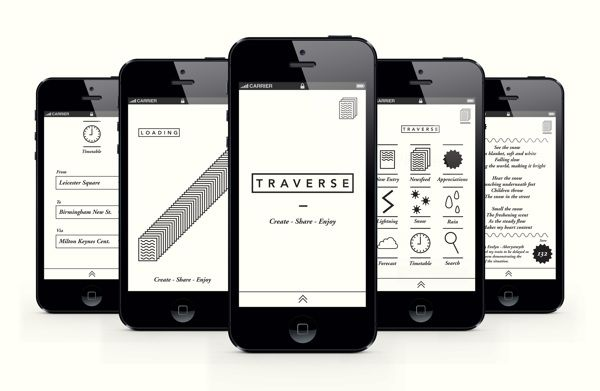 T R A V E R S E by Will Cundall, via Behance