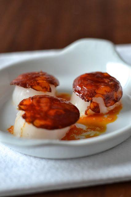La Cuisine c'est simple: Simple comme des noix de Saint-Jacques en robe de chorizo