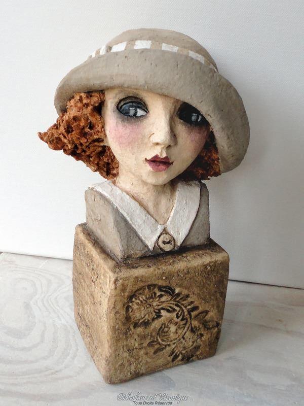 Les 25 meilleures id es concernant sculpture terre cuite sur pinterest sculptures en argile - Chapeau cheminee terre cuite ...