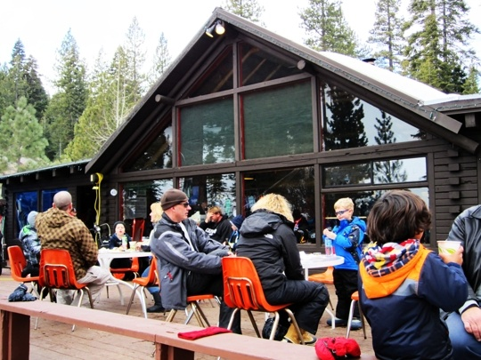 Granlibakken Ski Hut Snack Bar Tahoe City Kid Friendly Restaurants Tahoe Ski Resorts