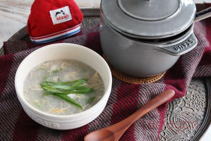 風邪予防に!5分でできちゃう「れんこんとネギのとろとろスープ」♪ - 朝時間.jp