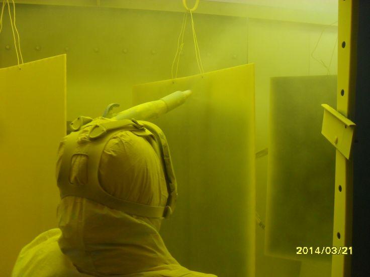 Recubrimientos de pintura electrostática en polvo ubicados den  Estancias de San Juan Bautista, Monclova Coahuila México. visitanos www.retemsa.com.mx