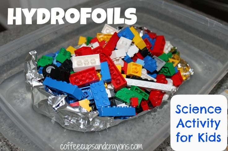 """This is a great """"sink and float"""" physics project for kids (and it's a water experiment!)"""