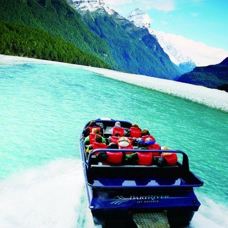 Dart River Wilderness Jet - take the journey into Mount Aspiring National Park.