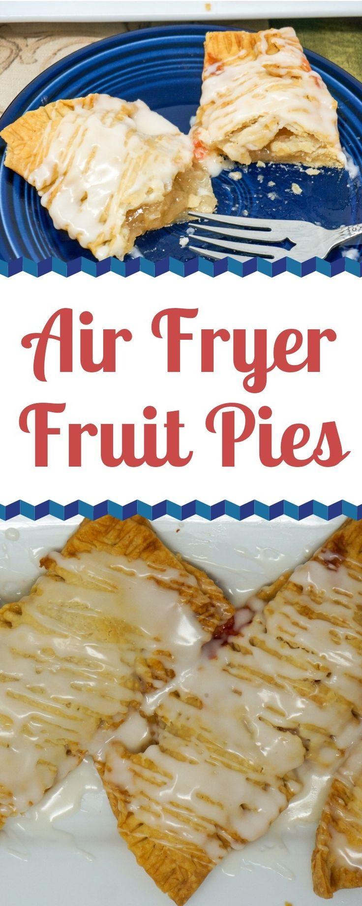 Air Fryer Fruit Pies – Klassische gebratene Torten, die in der Air Fry leichter und knuspriger gemacht werden …   – Air fryer recipes