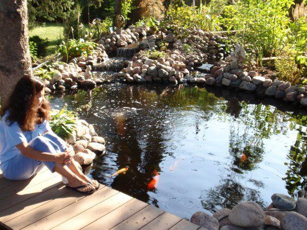 Relaxation pondside