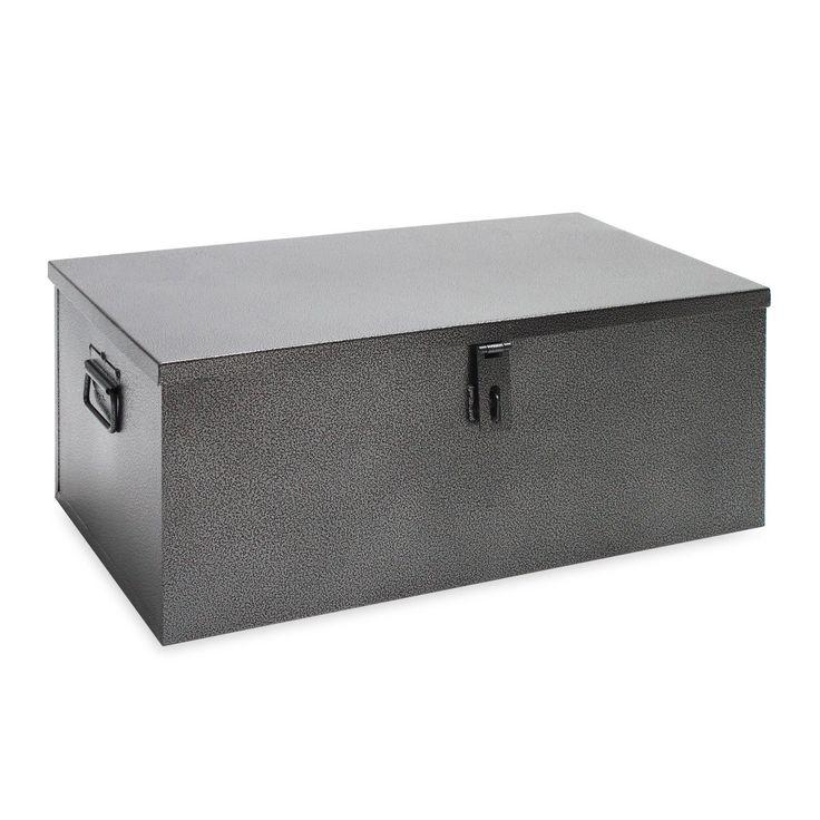 Werkezeugkiste Transportkiste Metallkiste Angelkoffer Angelkiste Kiste Truhe in Business & Industrie, Produktions- & Industriebedarf, Lagerbedarf   eBay
