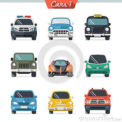 #cars #flat #illustration