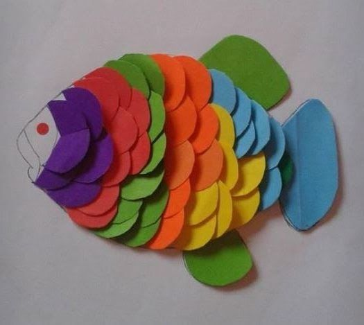 Gambar Kolase Bentuk Ikan Aneka Kreasi Dengan Pola Lingkaran Karya Kak Azure Dunia Download Puzzle Huruf Hijaiyyah Bentuk Ikan Sn Di 2021 Binatang Origami Kolase