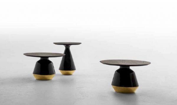 Włoskie designerskie stoliki kawowe Amira Tonin