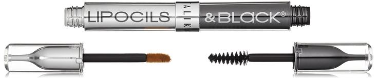 Talika Lipocils and Black Mascara, Baby Blue with Silver Trim. The legendary formula for natural eyelash growth.