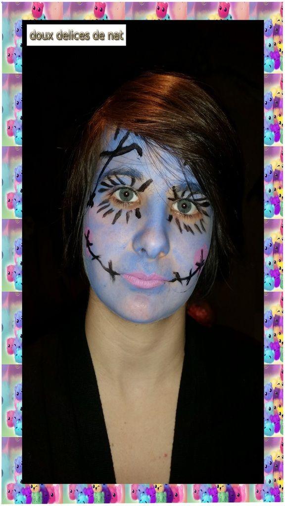 Maquillage Sally de L'étrange noël de Mr Jack ...