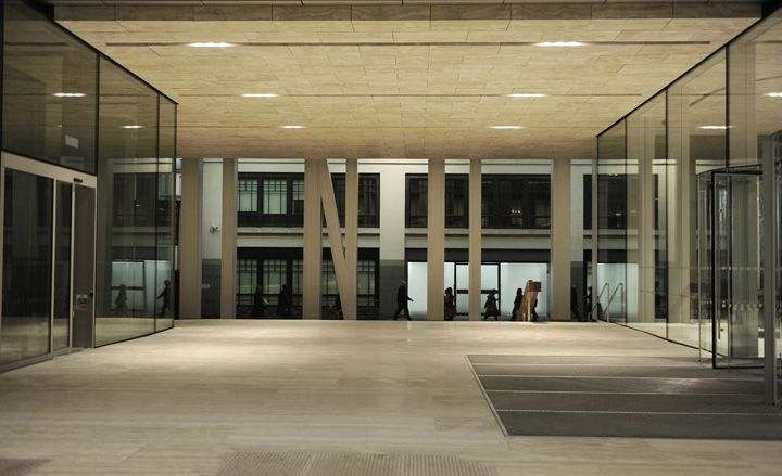 New Court, Rothschild London HQ, by OMA