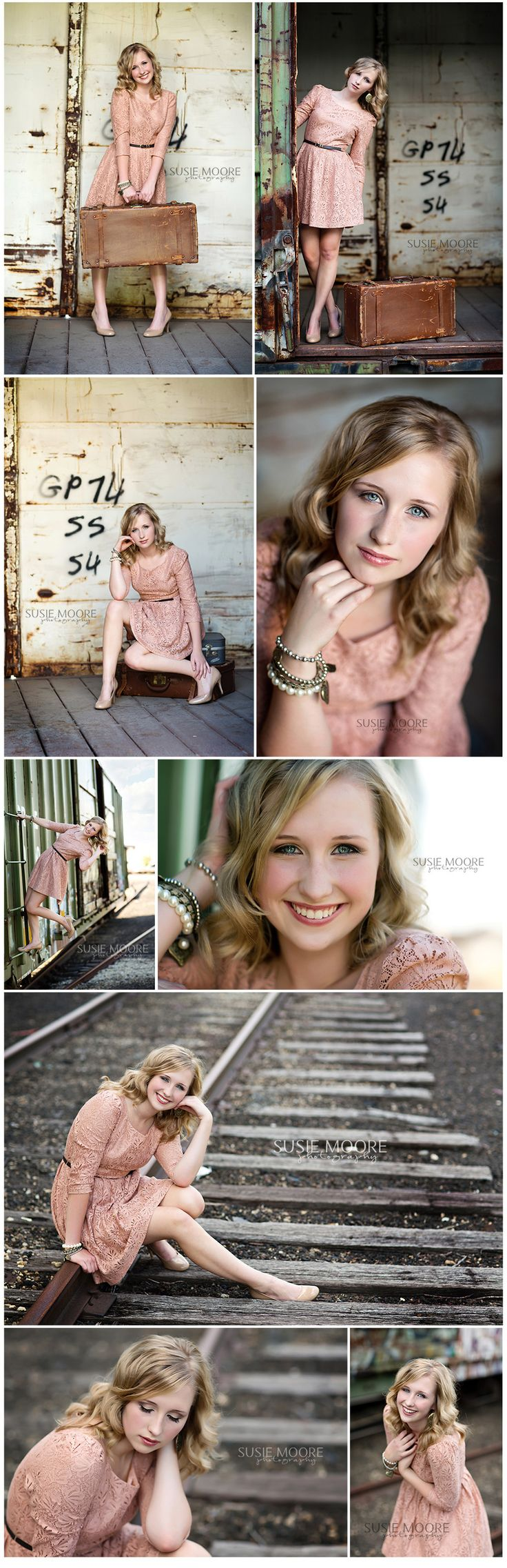 Last two poses are beautiful. Chicago Senior Photography | Susie Moore Photography | Senior Girl