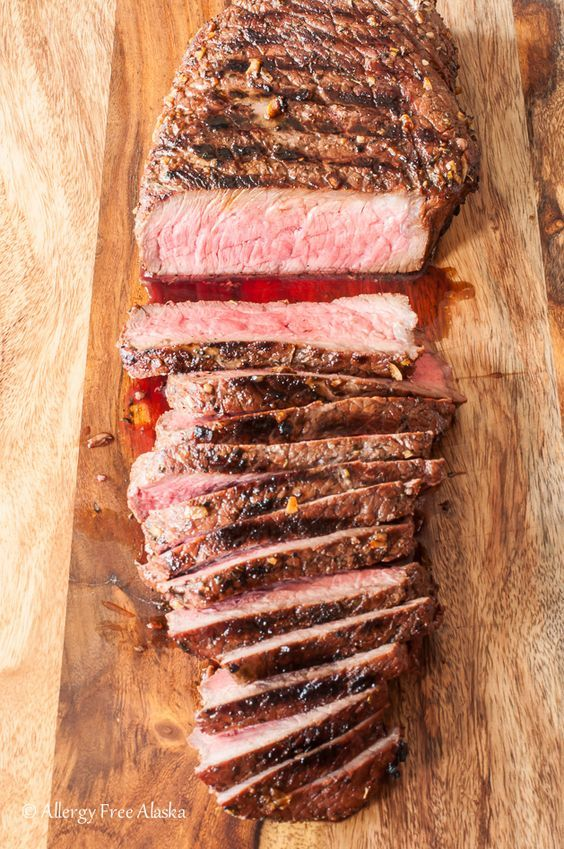 Fire up the BBQ! Because this recipe for tender & juicy Gluten Free Grilled and Marinated London Broil is going to blow your mind!