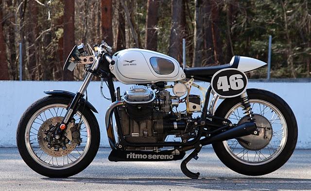 Moto Guzzi V7 Ambassador 1969 by Ritmo Sereno