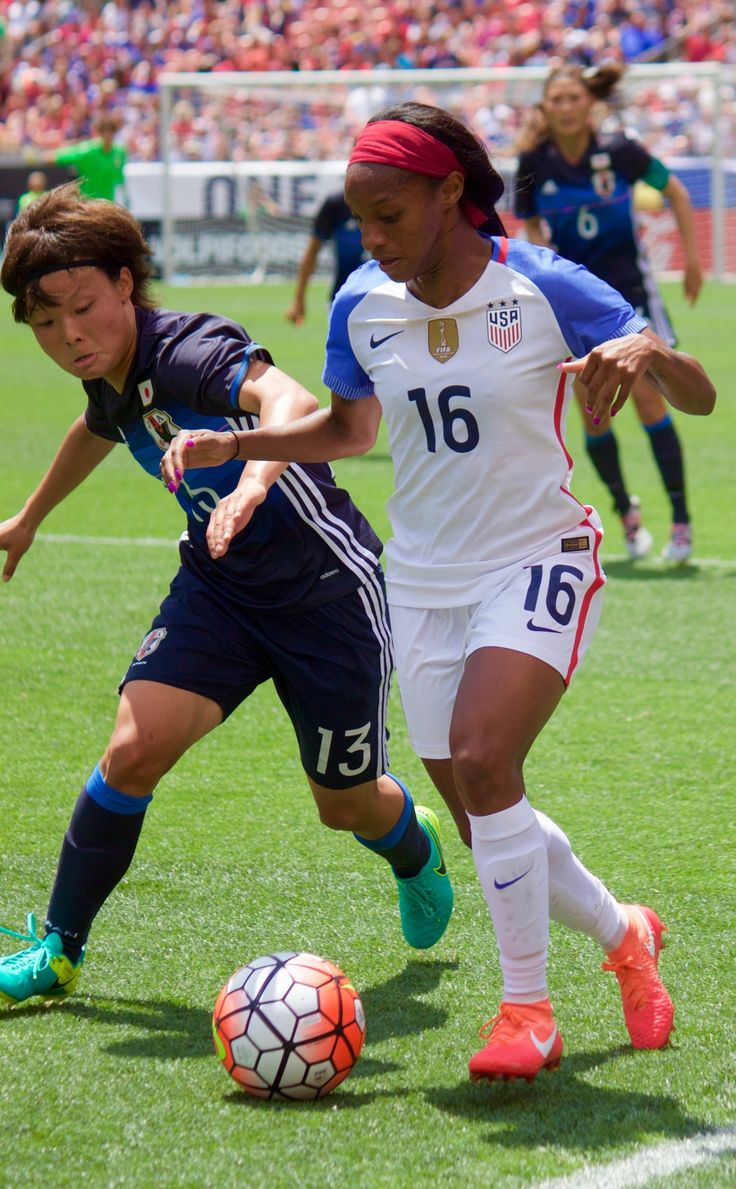 In honor of Crystal Dunn's birthday. I'm posting this sequence of CD being a boss versus Rika Masuya in the USWNT game against Japan at First Energy Stadium, Cleveland, OH. June 5, 2016. Happy Birthday Crystal!