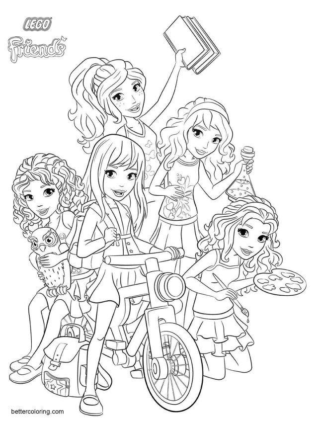 - 25+ Brilliant Image Of Lego Friends Coloring Pages - Entitlementtrap.com Lego  Coloring Pages, Lego Coloring, Lego Friends Birthday