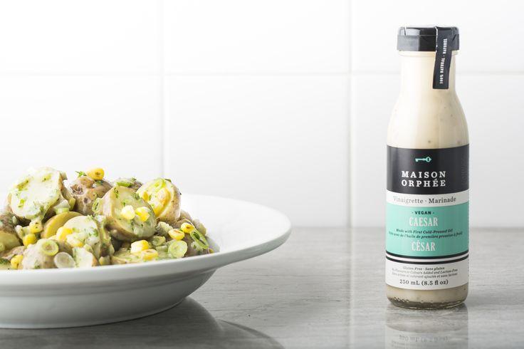 - Salade de pommes de terre nouvelles au maïs rôti