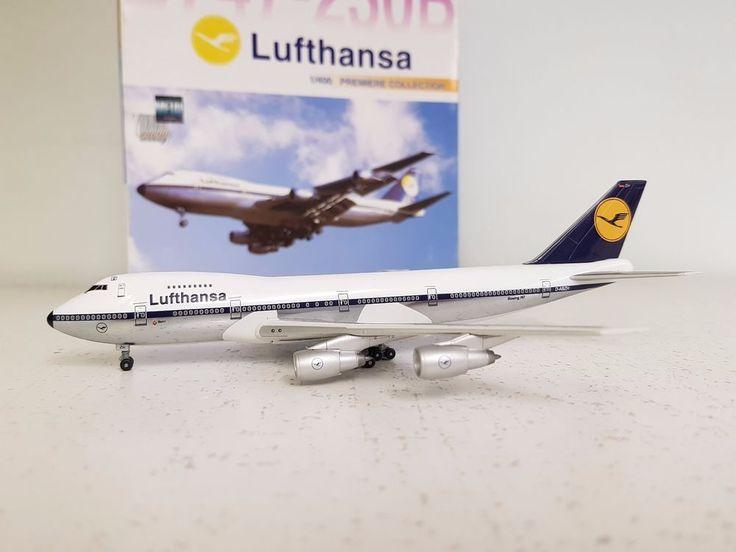 Dragon Wings 1:400 Boeing 747-200 Lufthansa old colours Ref: DRW55095 #GeminiJets1400