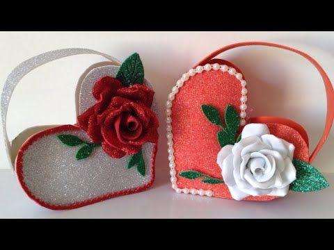 شنطه من الفوم أعمال يدويه من ورق الفوم هدايا من الفوم هدايا عيد الأمhow To Make Bag Gift From Foam Youtube
