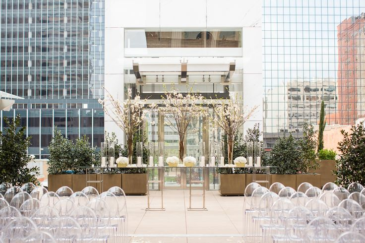 The Joule rooftop garden, Dallas. Think ill skip the destination wedding and have it here.