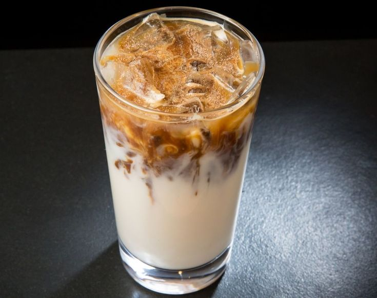 Starbucks Iced Cinnamon Almondmilk Macchiato - tall with sugar-free syrup = 4 points