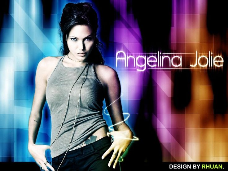 Fondos de pantalla de Angelina Jolie, Wallpapers HD Gratis