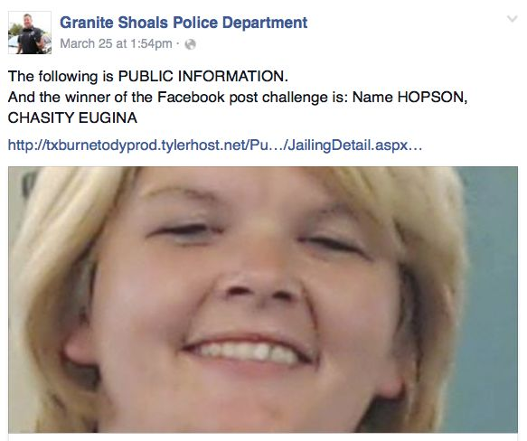 Texas cops joke on Facebook about Ebola-tainted meth and net one arrest - http://www.sogotechnews.com/2016/03/30/texas-cops-joke-on-facebook-about-ebola-tainted-meth-and-net-one-arrest/?utm_source=Pinterest&utm_medium=autoshare&utm_campaign=SOGO+Tech+News