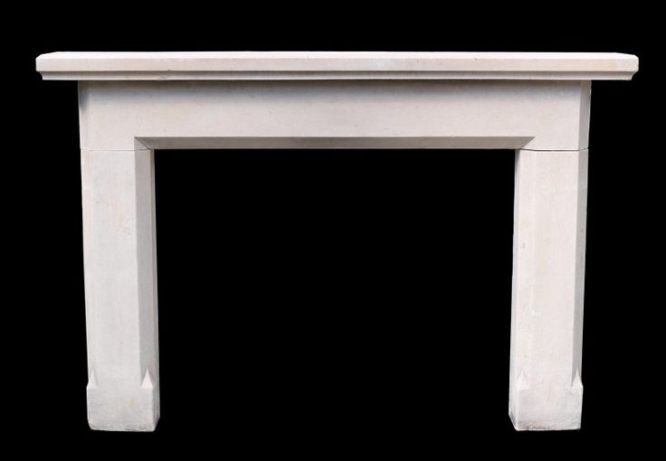 ANTIQUE PALE SANDSTONE FIRE SURROUND - UK Architectural Heritage