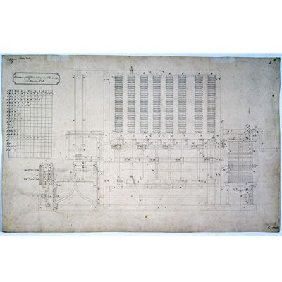 Difference Engine No. 2, drawing, c. 1848