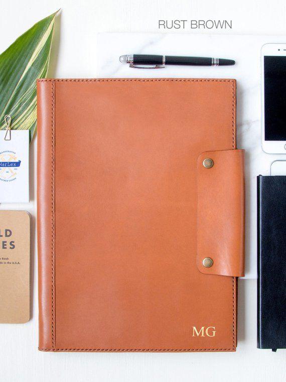 Leather Portfolio Personalize Gift