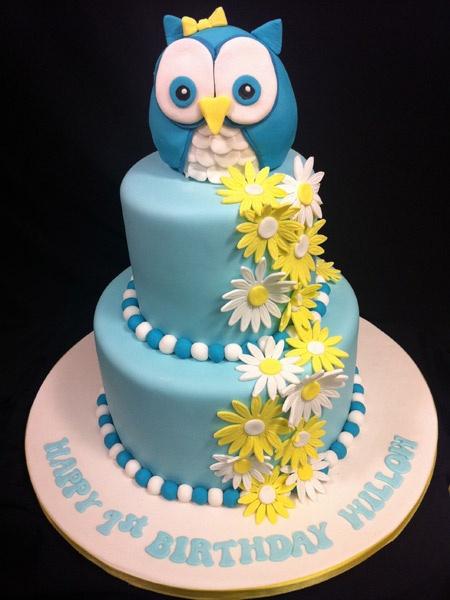 owl cakeOwls Birthday Ideas, Birthday Parties, 1St Birthday, Colors Schemes, Parties Ideas, Owls Cake, Owl Cakes, Kam Parties, Bday Cake